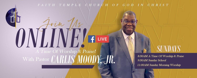 Service Schedule- Faith Temple Evanston