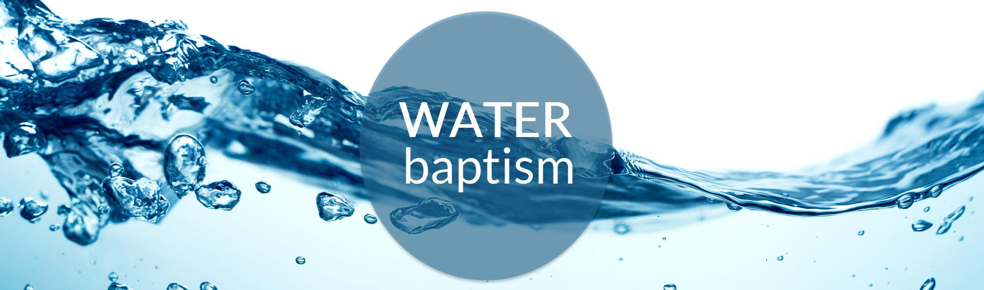 Water Baptism Faith Temple