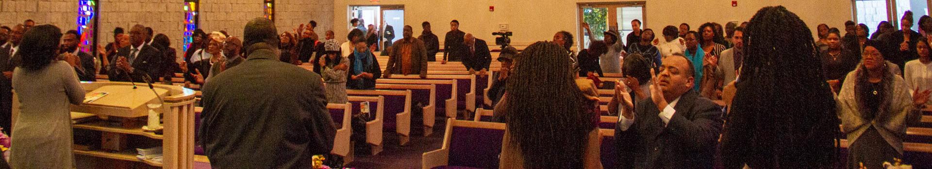 Inside Faith Temple Evanston